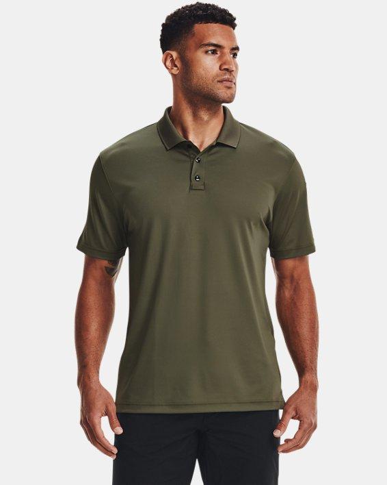 Men's UA Tactical Performance Polo 2.0, Green, pdpMainDesktop image number 0