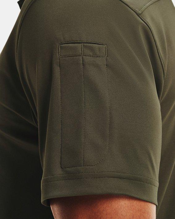 Men's UA Tactical Performance Polo 2.0, Green, pdpMainDesktop image number 3