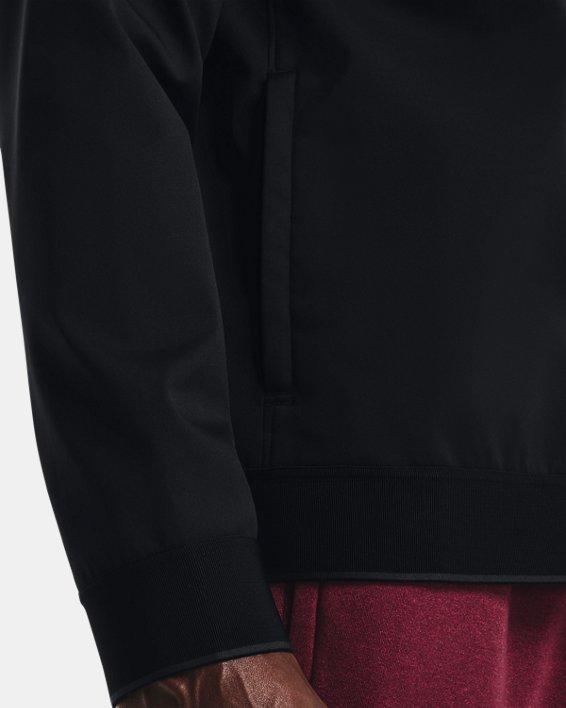 Men's UA Accelerate Bomber Jacket, Black, pdpMainDesktop image number 3
