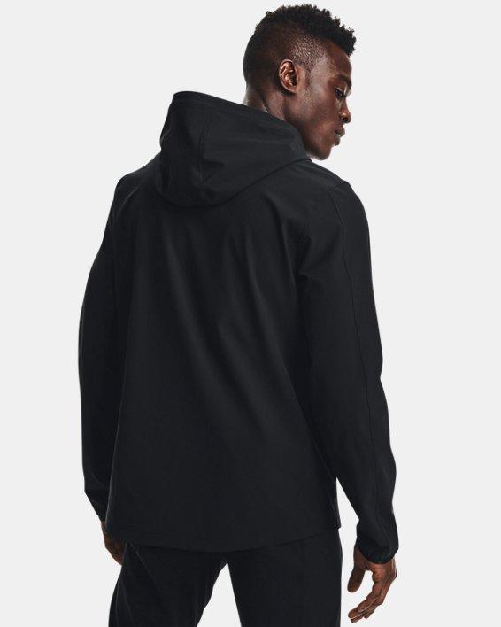 Men's UA Challenger Storm Shell Jacket, Black, pdpMainDesktop image number 2