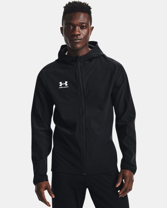 Men's UA Challenger Storm Shell Jacket, Black, pdpMainDesktop image number 1