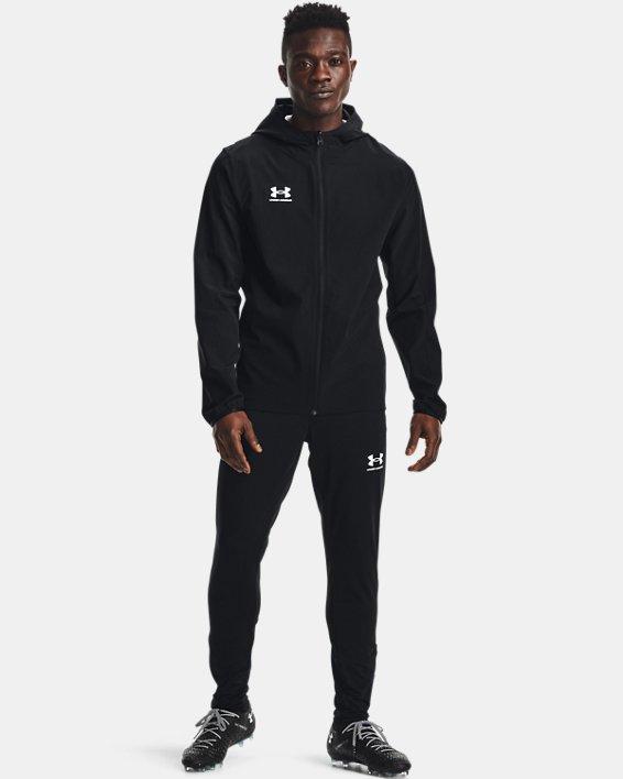 Men's UA Challenger Storm Shell Jacket, Black, pdpMainDesktop image number 0