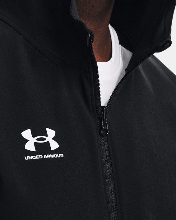 Men's UA Challenger Storm Shell Jacket, Black, pdpMainDesktop image number 5