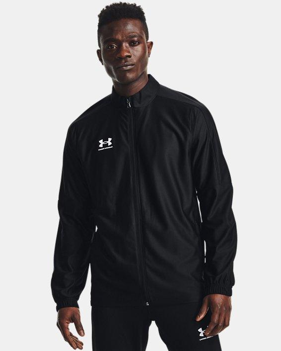 Men's UA Challenger Track Jacket, Black, pdpMainDesktop image number 0