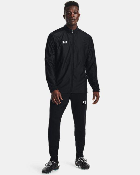 Men's UA Challenger Track Jacket, Black, pdpMainDesktop image number 2