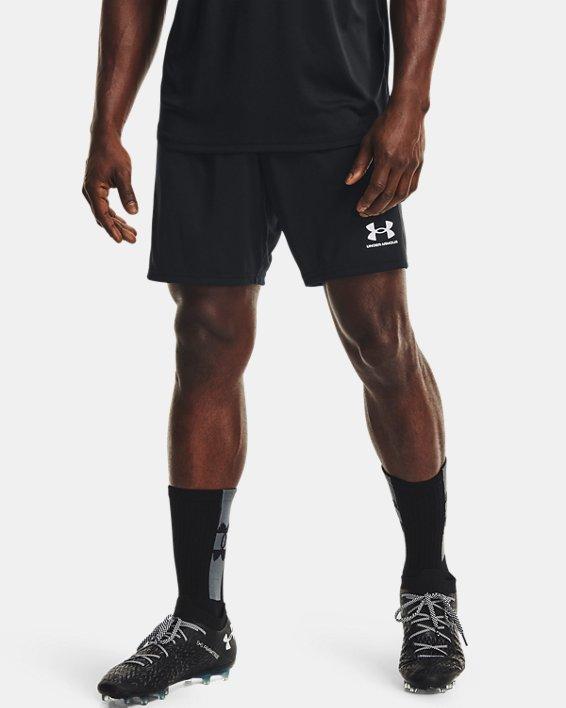 Men's UA Challenger Knit Shorts, Black, pdpMainDesktop image number 1