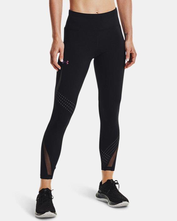 Women's UA RUSH™ HeatGear® Stamina Ankle Tights, Black, pdpMainDesktop image number 1