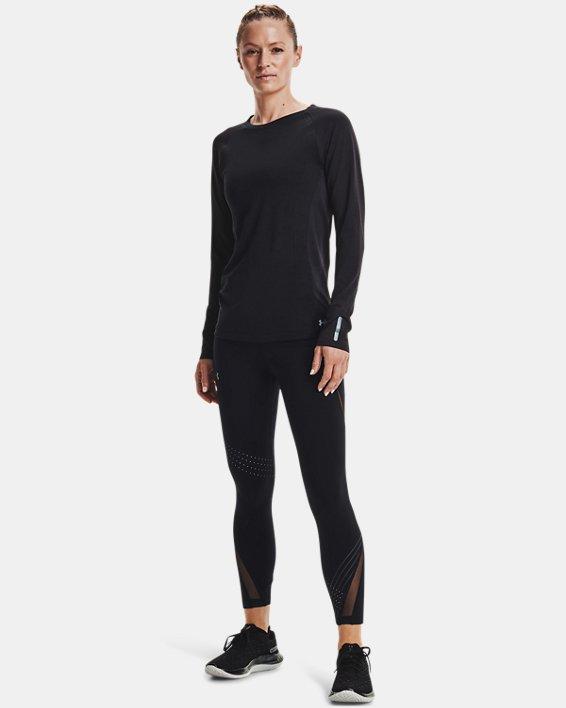 Women's UA RUSH™ HeatGear® Stamina Ankle Tights, Black, pdpMainDesktop image number 0