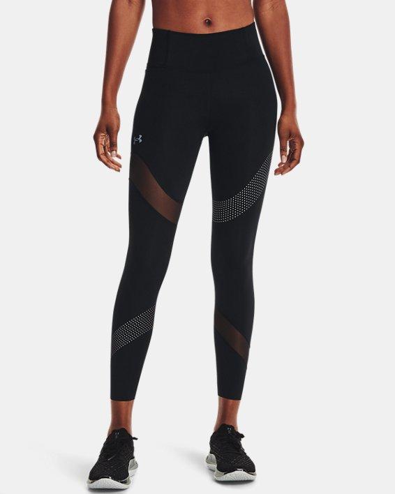 Women's UA Speedpocket Wave 7/8 Tights, Black, pdpMainDesktop image number 1