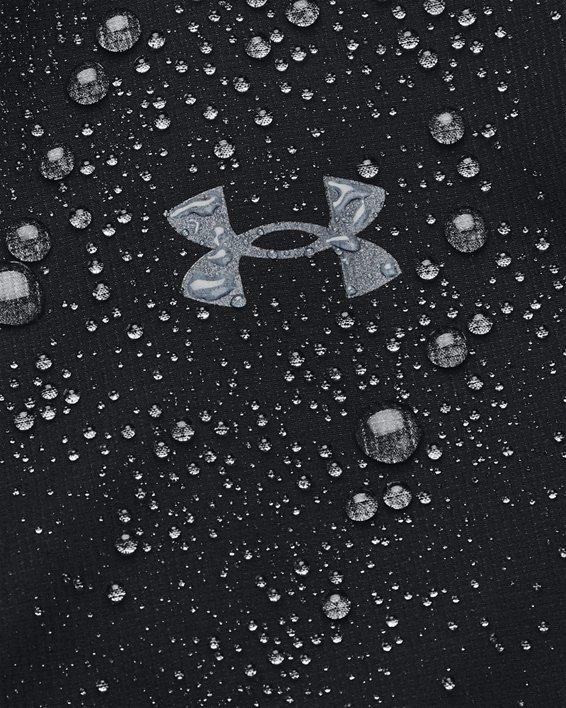 Men's UA OutRun The Rain Jacket, Black, pdpMainDesktop image number 6