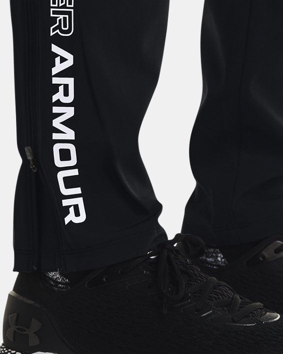 Men's UA Storm Run Pants, Black, pdpMainDesktop image number 5