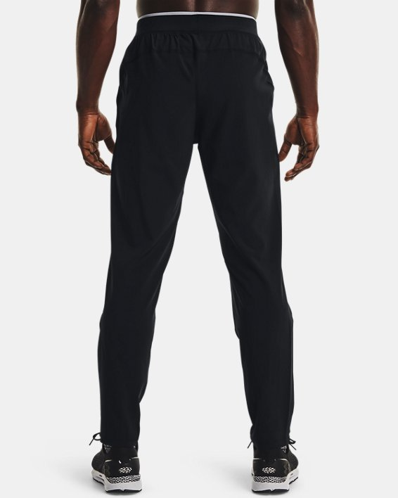 Men's UA Storm Run Pants, Black, pdpMainDesktop image number 2