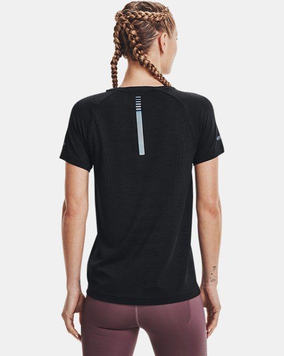 Women's UA Seamless Run Short Sleeve, Black, pdpMainDesktop image number 1