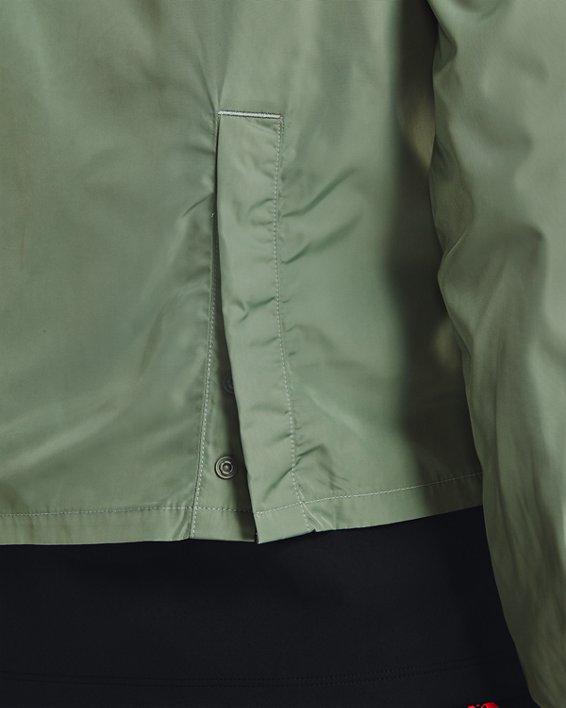 Women's UA Run Anywhere Laser Jacket, Green, pdpMainDesktop image number 3