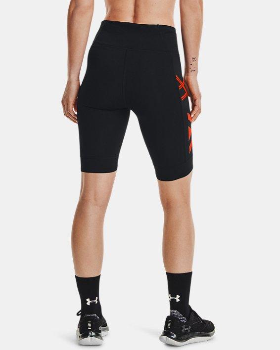 Women's UA Run Anywhere ½ Tights, Black, pdpMainDesktop image number 2