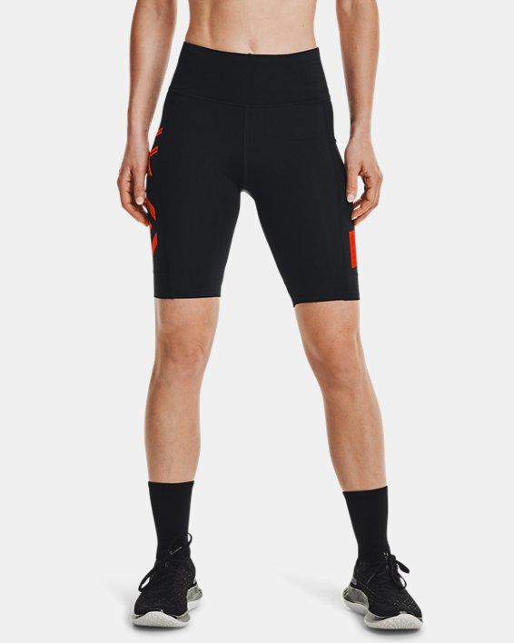 Women's UA Run Anywhere ½ Tights, Black, pdpMainDesktop image number 1