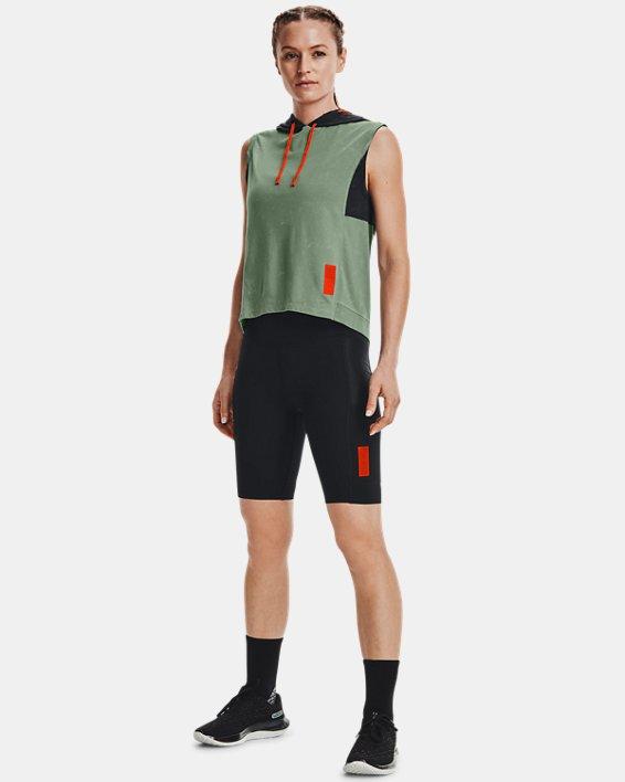 Women's UA Run Anywhere ½ Tights, Black, pdpMainDesktop image number 0