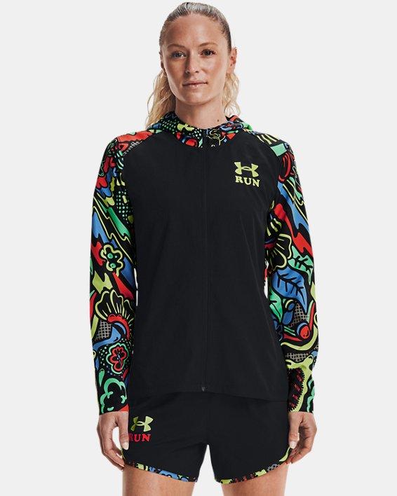 Women's UA Keep Run Weird Jacket, Black, pdpMainDesktop image number 0