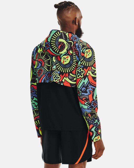 Men's UA Keep Run Weird Jacket, Black, pdpMainDesktop image number 1