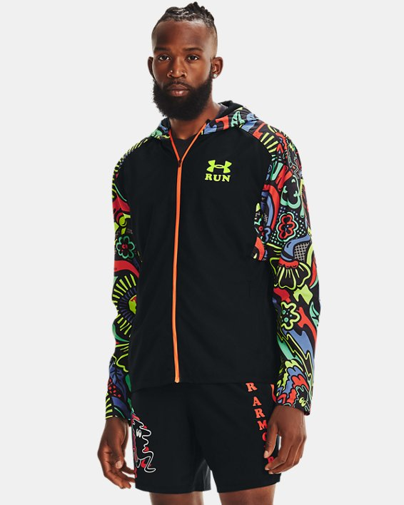 Men's UA Keep Run Weird Jacket, Black, pdpMainDesktop image number 0
