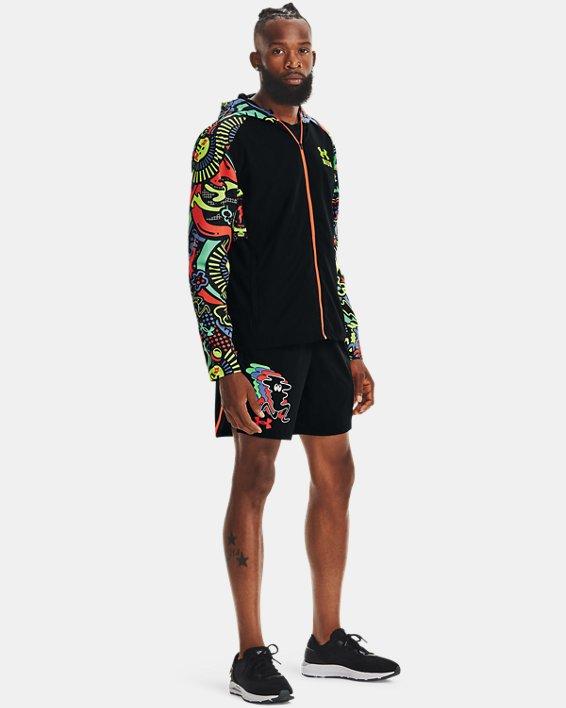 Men's UA Keep Run Weird Jacket, Black, pdpMainDesktop image number 2