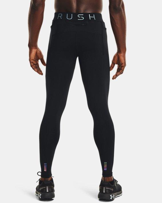 Men's UA RUSH™ HeatGear® Stamina Tights, Black, pdpMainDesktop image number 2