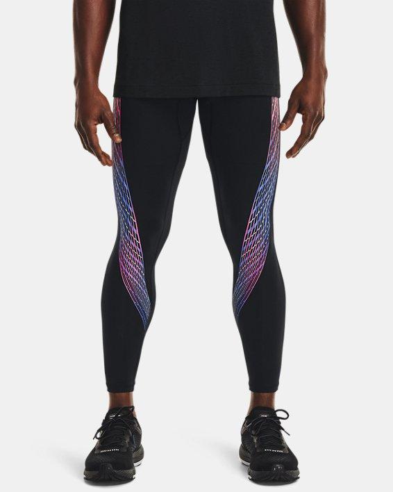 Men's UA RUSH™ HeatGear® Stamina Tights, Black, pdpMainDesktop image number 1
