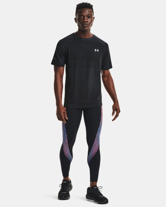 Men's UA RUSH™ HeatGear® Stamina Tights, Black, pdpMainDesktop image number 0