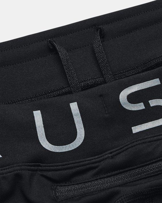Men's UA RUSH™ HeatGear® Stamina Tights, Black, pdpMainDesktop image number 8