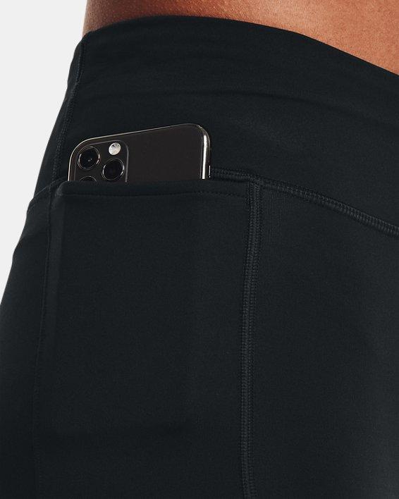 Women's UA Fly Fast Pocket Shorts, Black, pdpMainDesktop image number 3