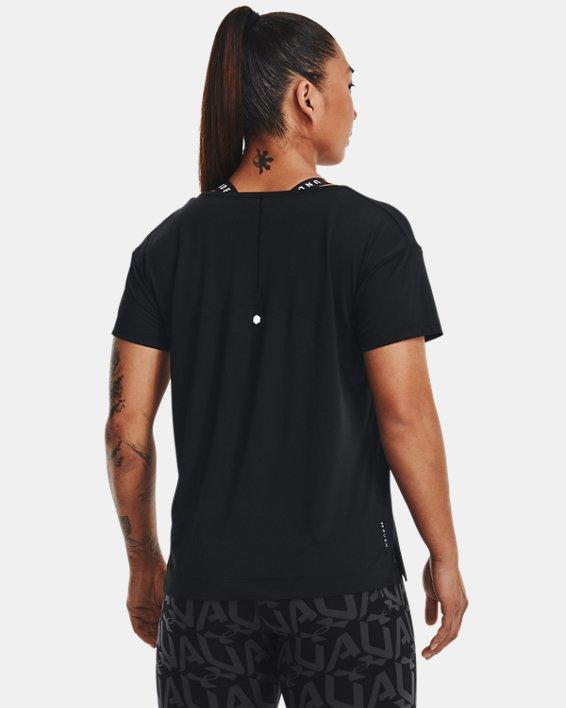 Women's UA RUSH™ Energy Core Short Sleeve, Black, pdpMainDesktop image number 1
