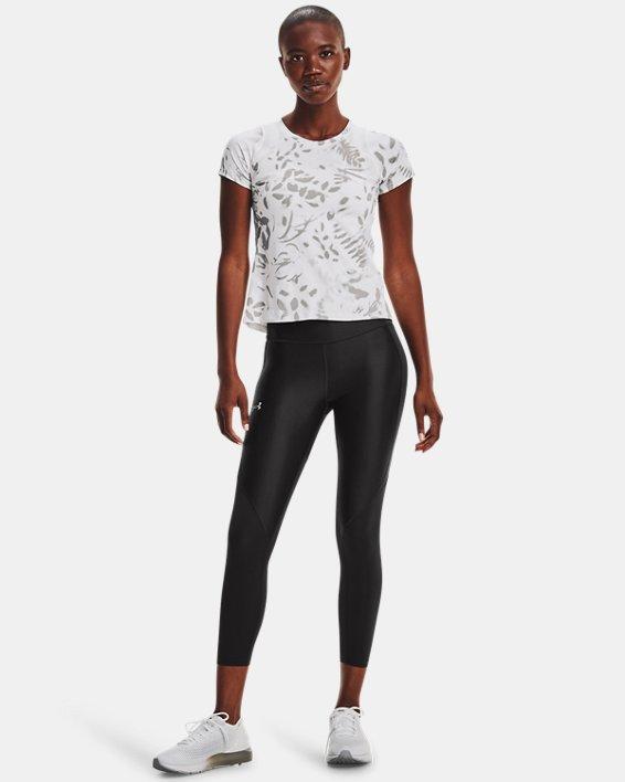 Women's UA Iso-Chill 200 Print Short Sleeve, White, pdpMainDesktop image number 2