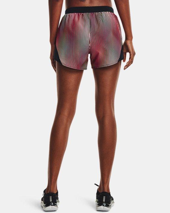 Women's UA Fly-By 2.0 Chroma Shorts, Pink, pdpMainDesktop image number 2
