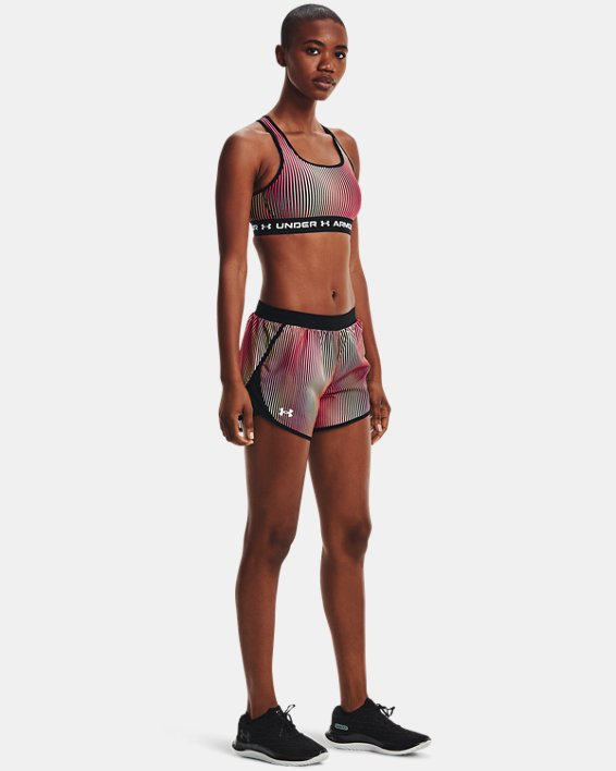 Women's UA Fly-By 2.0 Chroma Shorts, Pink, pdpMainDesktop image number 0