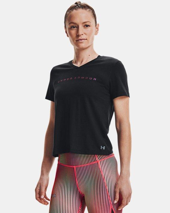 Camiseta de manga corta UA Speed Stride Chroma para mujer, Black, pdpMainDesktop image number 1