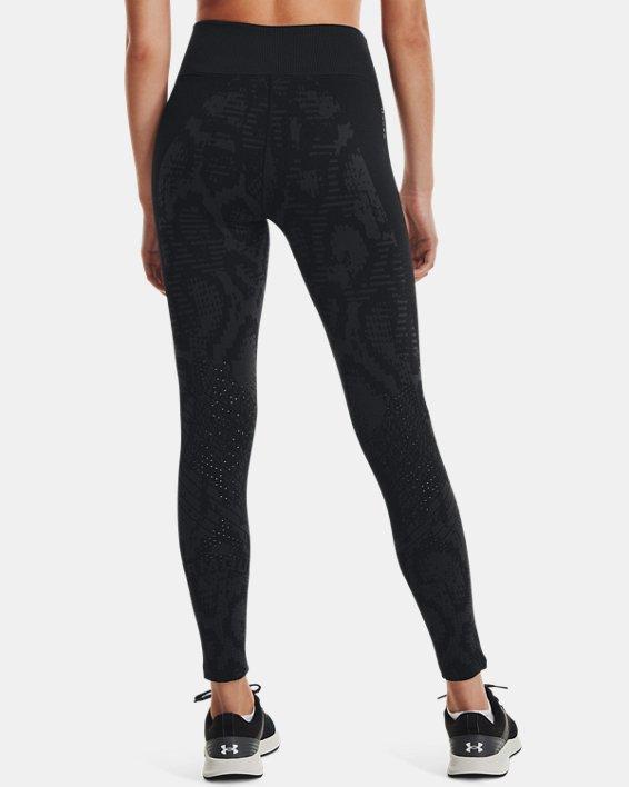 Women's UA RUSH™ HeatGear® Seamless Ankle Leggings, Black, pdpMainDesktop image number 1