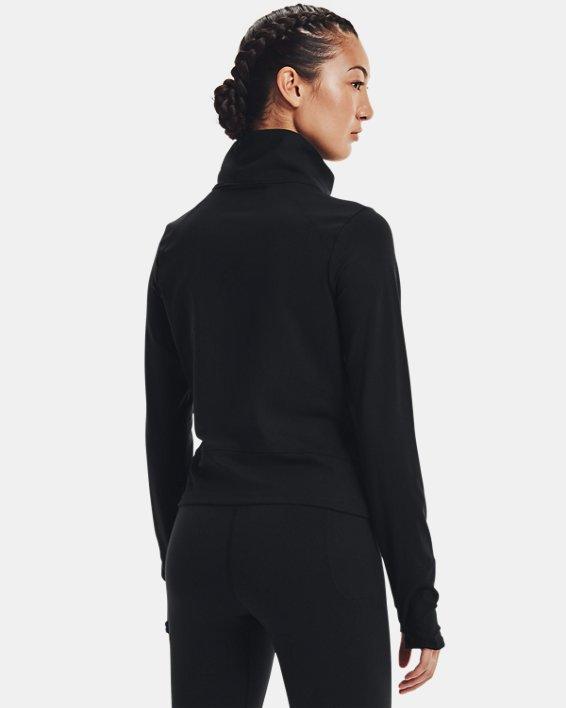 Women's UA Meridian Jacket, Black, pdpMainDesktop image number 2