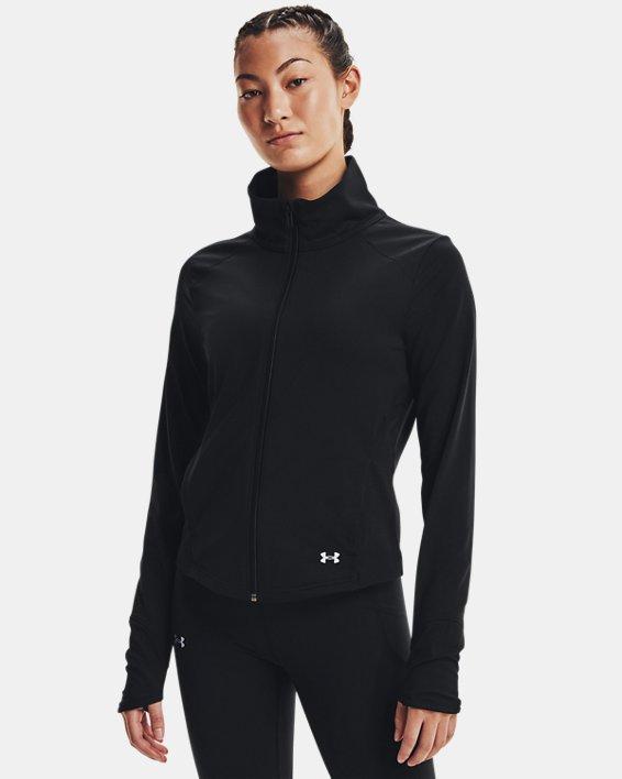 Women's UA Meridian Jacket, Black, pdpMainDesktop image number 1