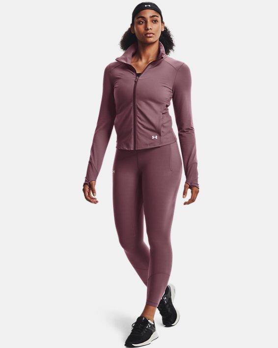 Women's UA Meridian Jacket, Purple, pdpMainDesktop image number 0