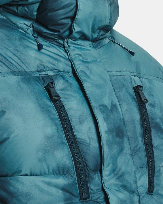 Men's ColdGear® Infrared Down Printed Jacket, Blue, pdpMainDesktop image number 3