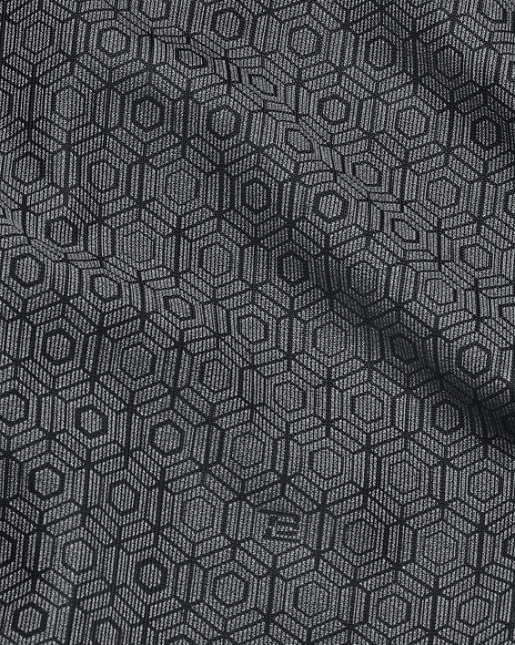 Women's UA RUSH™ Woven Print Full-Zip, Black, pdpMainDesktop image number 6