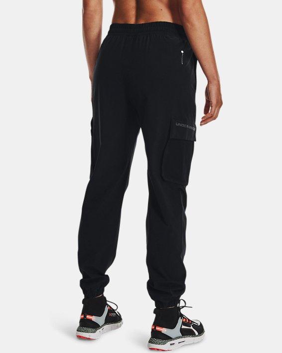 Joggers UA RUSH™ Woven para mujer, Black, pdpMainDesktop image number 1