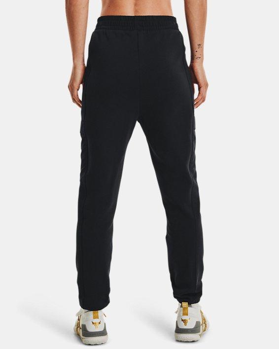 Women's Project Rock Fleece Pants, Black, pdpMainDesktop image number 1