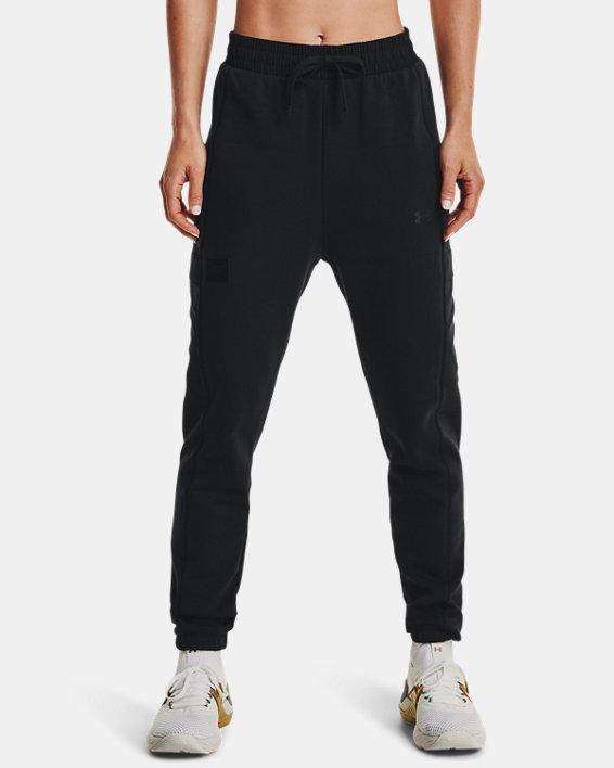 Women's Project Rock Fleece Pants, Black, pdpMainDesktop image number 0