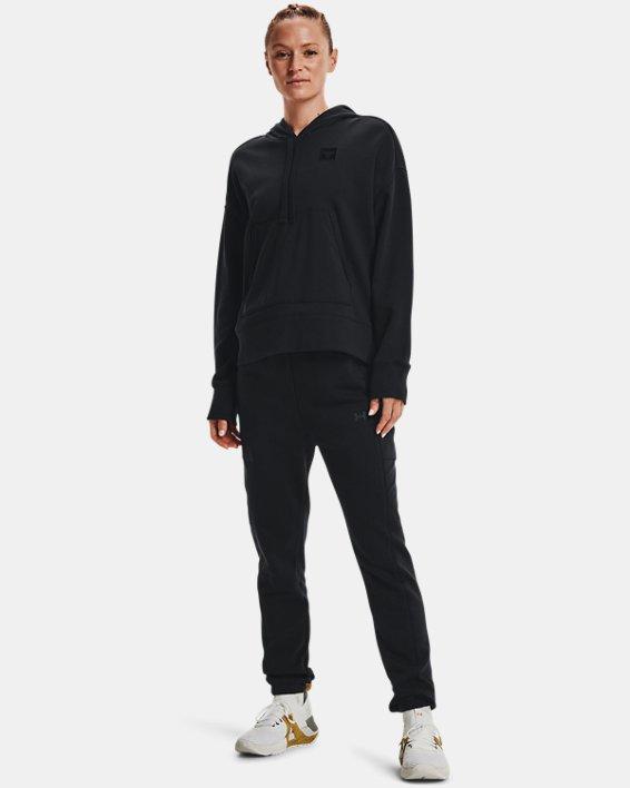 Women's Project Rock Fleece Pants, Black, pdpMainDesktop image number 2