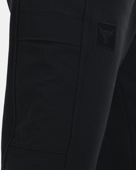 Women's Project Rock Fleece Pants, Black, pdpMainDesktop image number 3