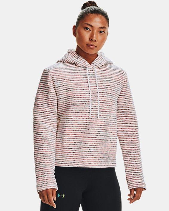 Women's UA Multi-Color Hoodie, White, pdpMainDesktop image number 0