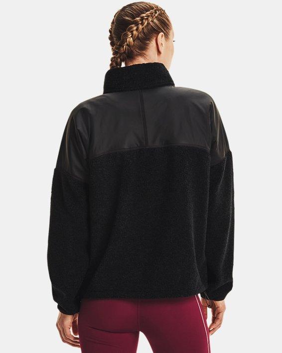 Women's UA Mission Full-Zip Jacket, Black, pdpMainDesktop image number 1