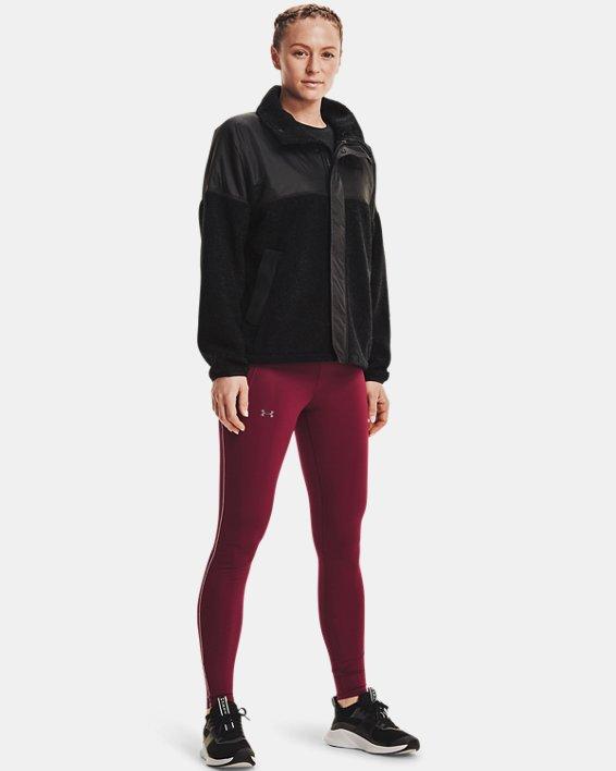 Women's UA Mission Full-Zip Jacket, Black, pdpMainDesktop image number 2