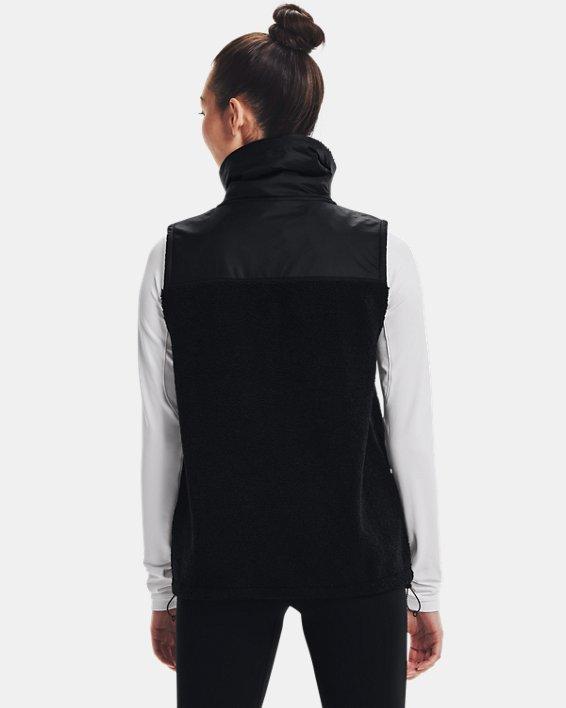 Women's UA Mission Vest, Black, pdpMainDesktop image number 1